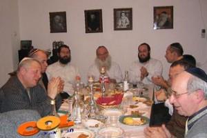 אורחים מישראל בהתוועדות כ