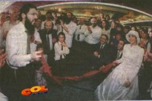 החתונה שאברהם פריד לא ישכח לעולם