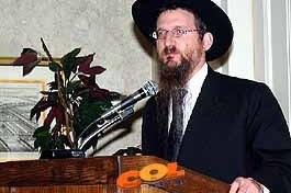 הרב לאזאר - אורח ערב ישראלי בטורונטו