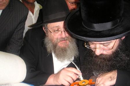 מקהלת צבאות ה' בחנוכת בתי הכנסת בנתב