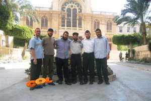 יום-הכיפורים עם יהודי אלכסנדריה