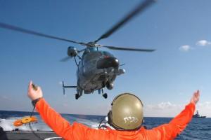 COL בתרגילי חילוץ והצלה בלב ים