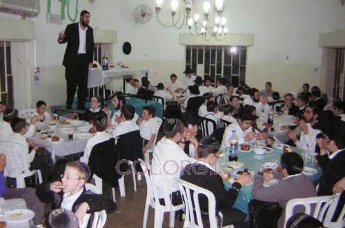 שבת אחדות לילדי קעמפ 'גן-ישראל' בצפת