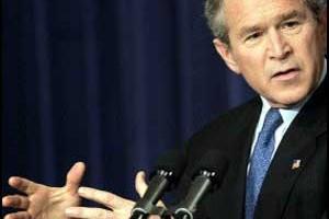 הנשיא בוש בנאום מפתיע: חב