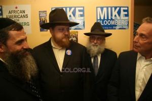 בלומברג ממשיך בביקוריו בקראון-הייטס לקראת הבחירות