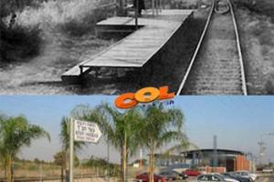 היו ימים: תחנת הרכבת בכפר חב