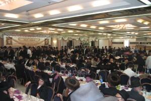 תושבי ירושלים התכנסו להתוועדות לרגל י