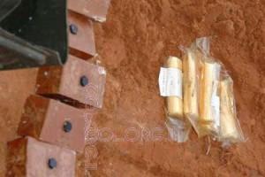 לבנת חבלה נמצאה בכפר-חב