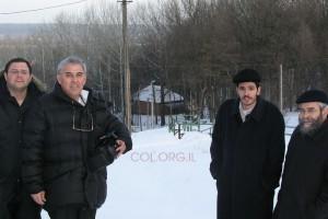 הציונים הקדושים באוקראינה תחת מעטה שלג