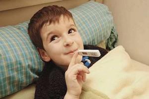 לילד יש חום – מה עושים?