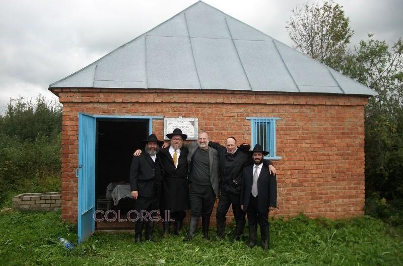 הנגיד ואורחיו ביקרו בליובאוויטש