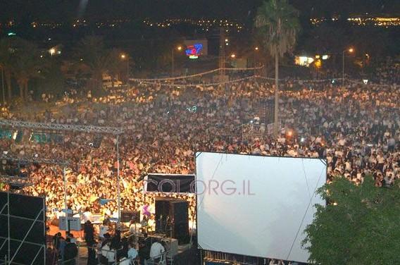 60 אלף איש בחגיגה בכפר-חב