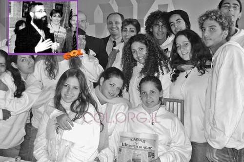 בני נוער מחיפה - אורחי הקהילה היהודית באודסה