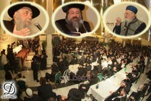 אלפים חגגו בהתוועדות המרכזית בירושלים: וידאו