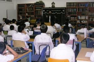 תלמידי ישיבת כפר סיטרין הפגינו בקיאות