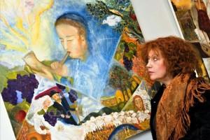 ציירת: כדאי להביא ילדים לצפות באמנות חסידית