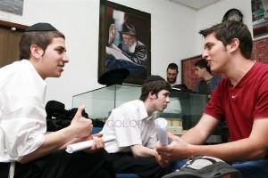 בני נוער מחולון נפגשו עם בני גילם בכפר חב
