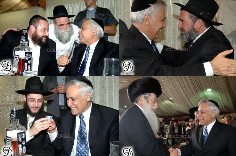 נשיא המדינה הנבצר בחתונה בכפר-חב