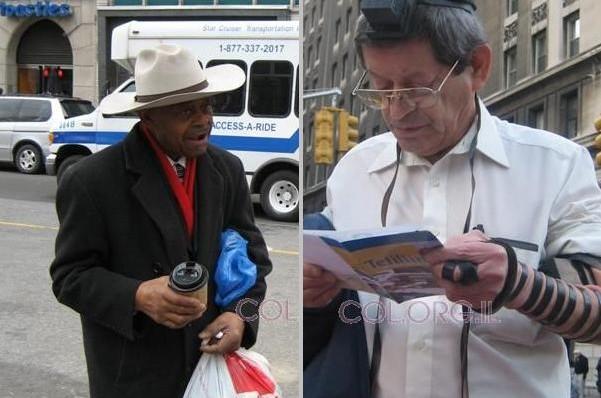 דרמה במנהטן: השחורים התעקשו להניח תפילין