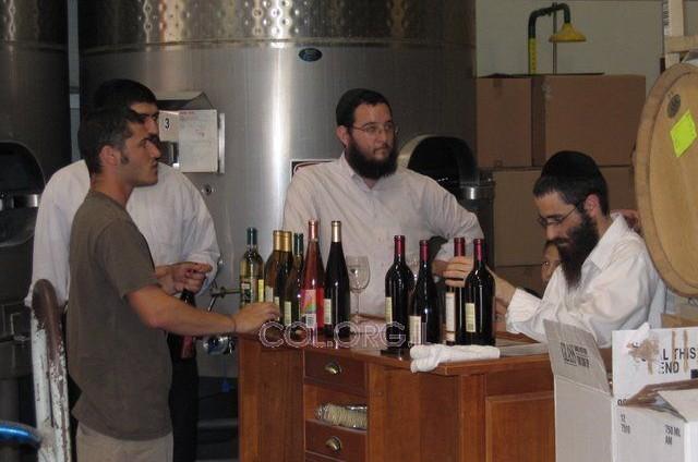 יקב יינות, משפחות שלוחים ויהודי שתוי