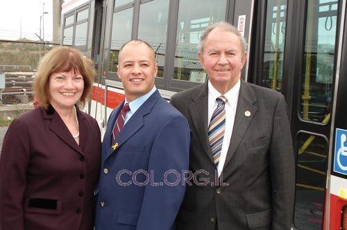 הוקרה לנהג האוטובוס שהתריע על אנטישמיות