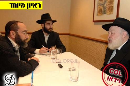 הרב קרינסקי בראיון השנתי ל-COL ● לצפייה בוידאו