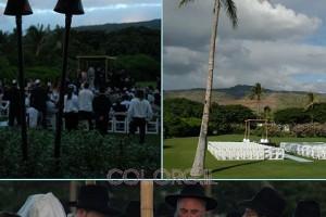 התרגשות בהוואי: חתונה חסידית ראשונה ● גלריה
