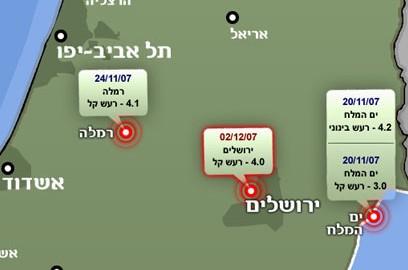 מדברים על חלוקת ירושלים - והאדמה רועדת