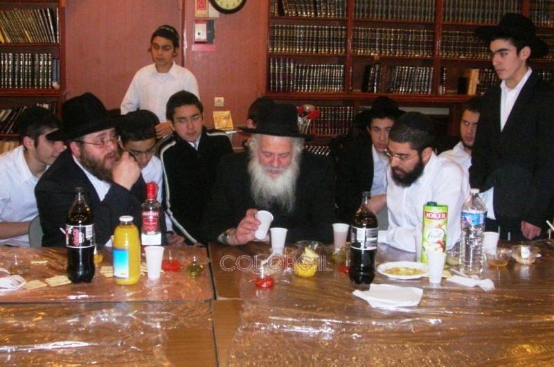 הרב ירוסלבסקי התוועד בישיבה קטנה ליובאוויטש ווענסן