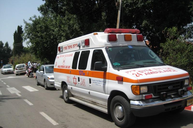 ילד נפצע בתאונת דרכים בכפר-חב