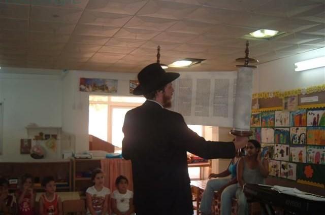 פעילות שבועות בצפון תל-אביב