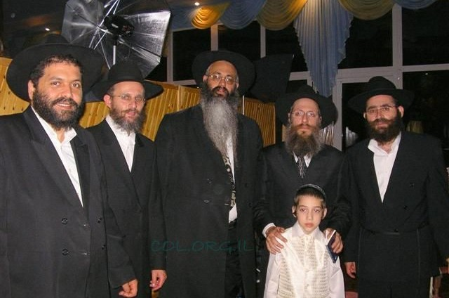 החברים מישראל השתתפו בבר מצווה לבן השליח