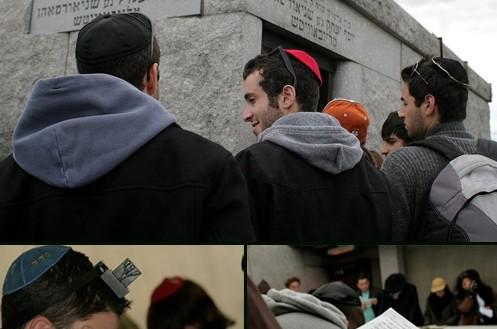 ביקורם של בני-הנוער נחתם בביקור באהל