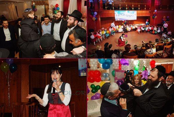 מלכה'לי הגיעה מישראל, והילדים חגגו במוסקווה