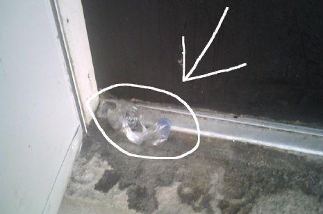 פצצה הונחה בפתח בית חב