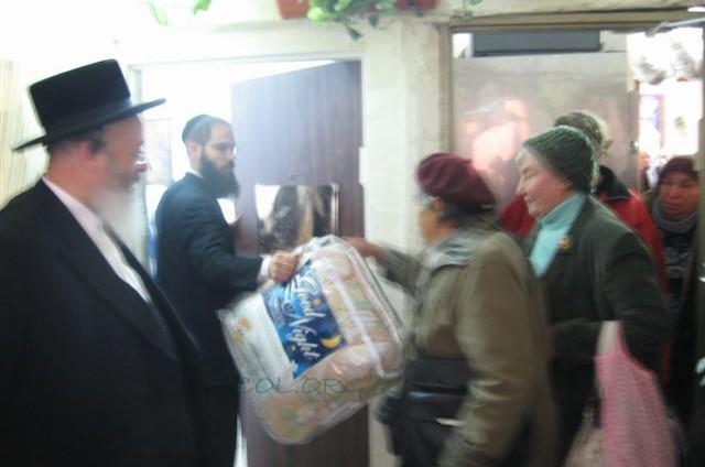 חנוכה שמח לעניי ירושלים
