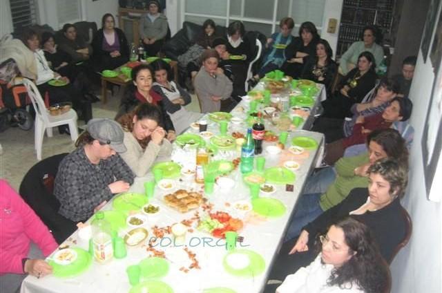 רמת ישי: עשרות נשים בהתוועדות י' שבט