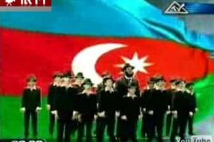 מקהלת הילדים האזרביג'נית בהופעת בכורה בערוץ MTV