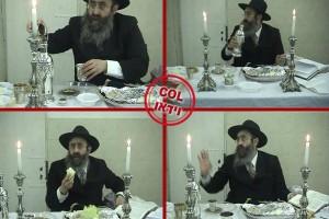 בואו לעשות 'סדר לדוגמא' עם הרב גלוכובסקי ● וידאו