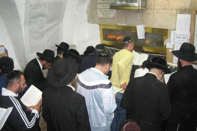 מנאות אפקה עלו לתפילה בקברי צדיקים בצפון