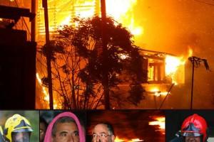 דרמה לילית בכפר: בית עלה באש; תושבים חולצו מבתיהם