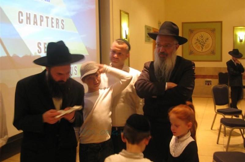 מאות בסמינר חג השבועות בירושלים