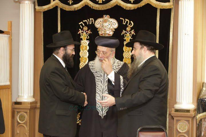הרב עמאר ביקר והתרשם במוסדות חב