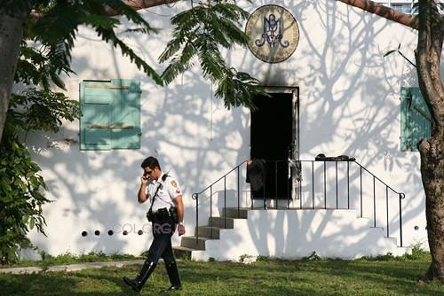 משטרת לוס-אנג'לס מתגברת האבטחה על בתי-חב