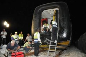 אסון בדרום: 7 בני משפחה חרדית נהרגו בתאונה עם רכבת