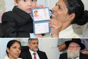 מרגש: סנדרה קיבלה אזרחות ישראלית ● וידאו בלעדי, גלריה