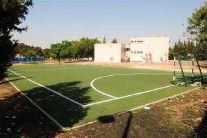 מגרש כדורגל משוכלל מדשא סינטטי לילדי