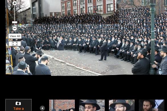 תמונה פנורמית של אלפי השליחים: בואו לזהות את עצמכם
