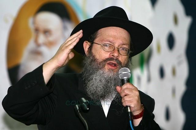 הרב סלבטיצקי גוייס בצו 8 למילואים בתורת חב