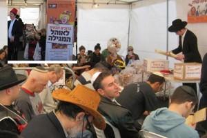 גולת הכותרת של פעילות פורים בנתניה:  'אוהל המגילה'